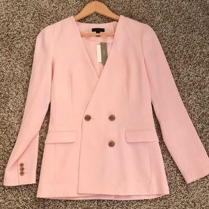 JCrew French girl blazer in a pretty pink! **NWT**